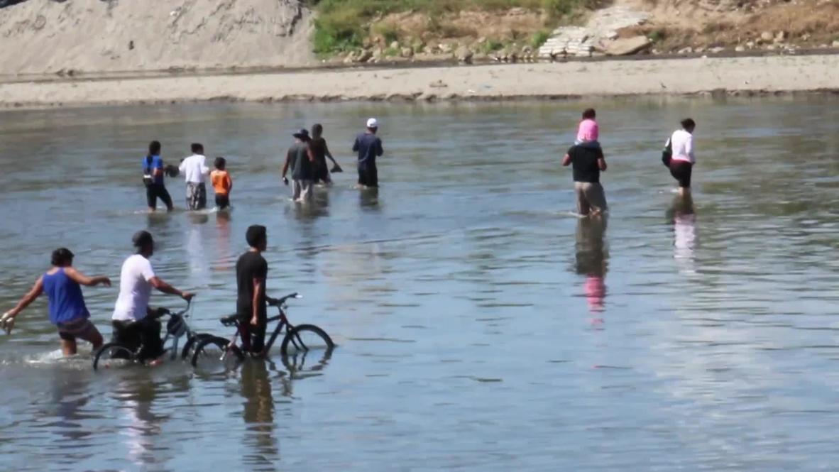 Guatemala: Migrantes llegan a Tecún Umán con la esperanza de alcanzar la frontera de EE.UU.