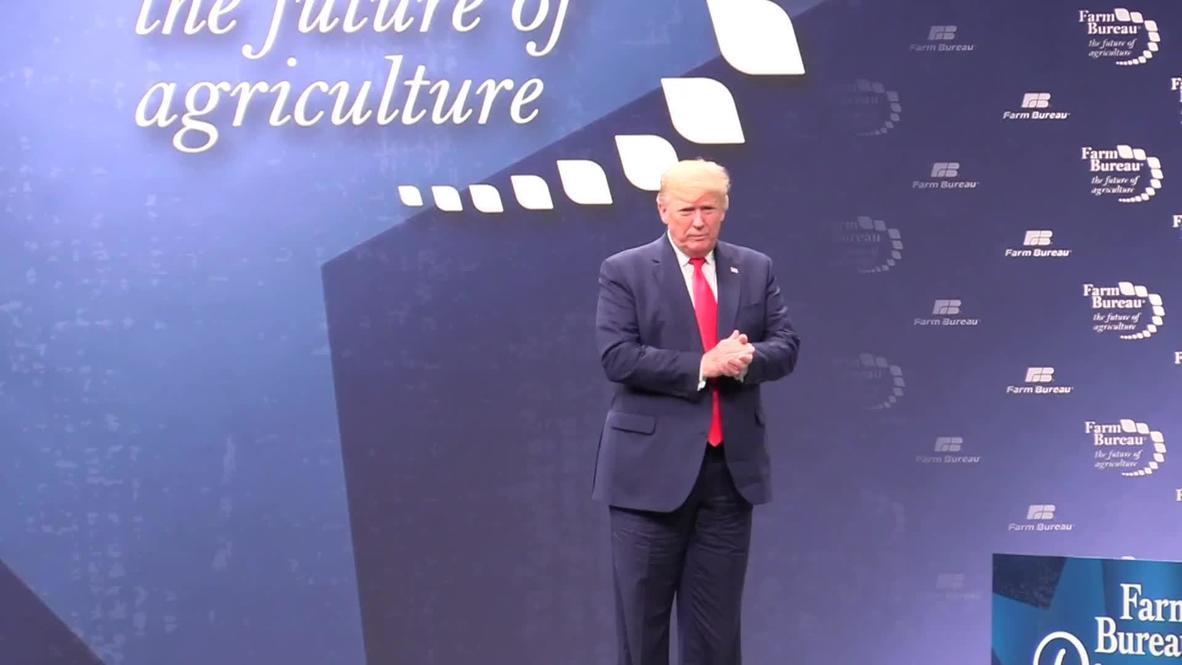 EE. UU .: Trump elogia los acuerdos comerciales alcanzados