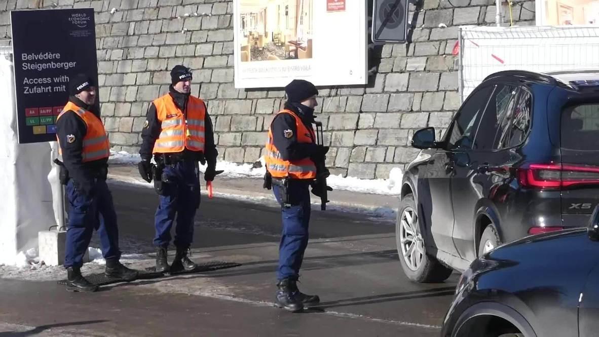 Switzerland: Davos beefs up security ahead of World Economic Forum