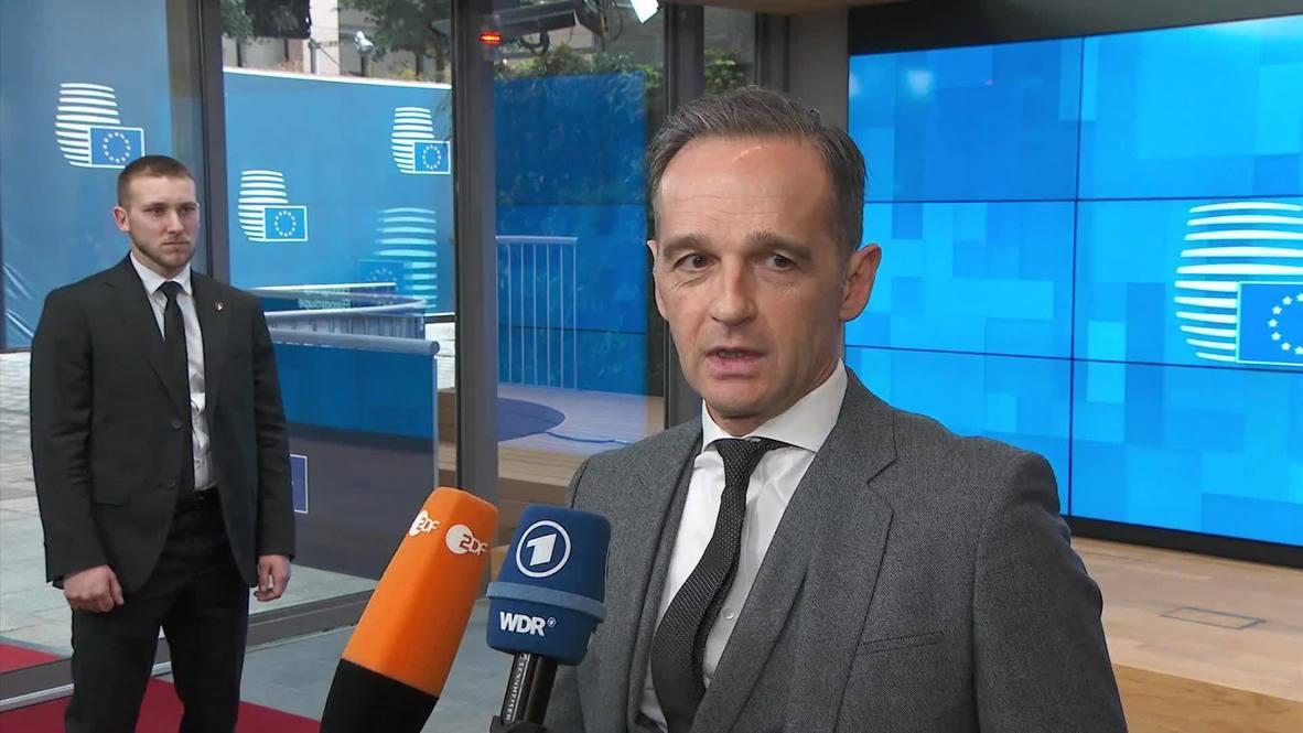 بلجيكا: ماس: وقف إطلاق النار في ليبيا يجب أن يتحول إلى هدنة دائمة