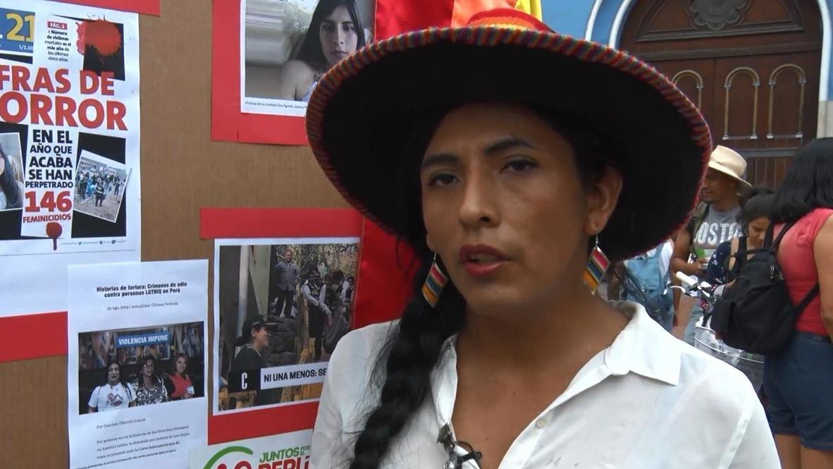Perú: Activista indígena busca ser la primera transexual en el Congreso