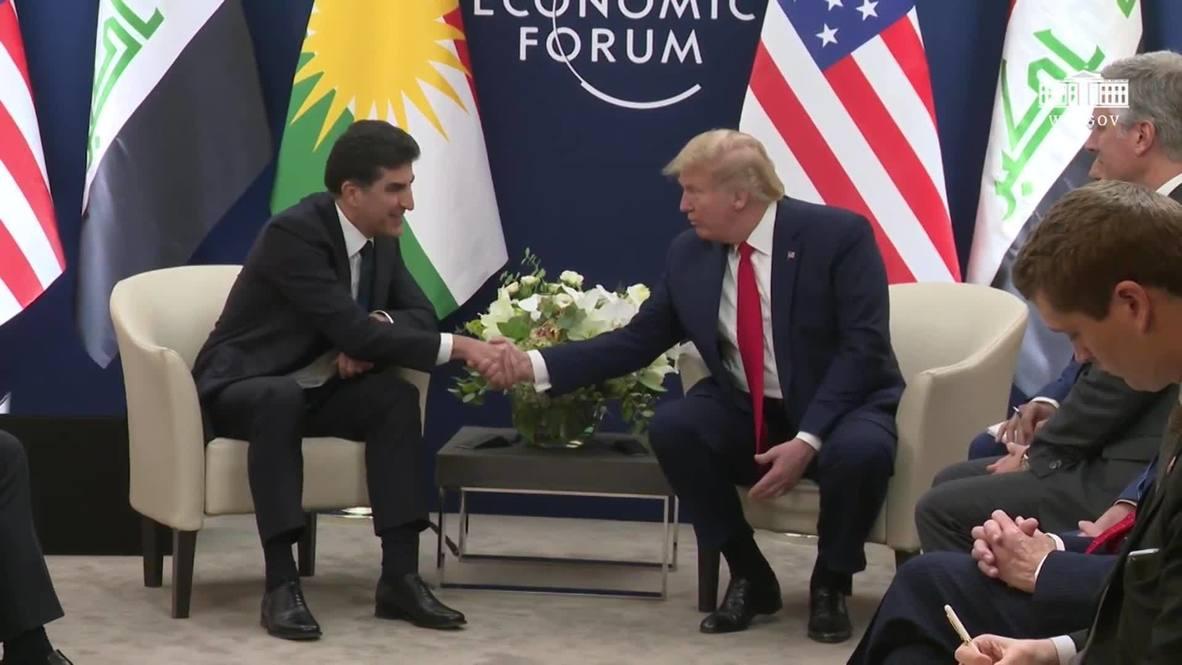 Switzerland: 'We have the oil' - Trump talks Syria with Iraqi-Kurdistan Pres. Barzani