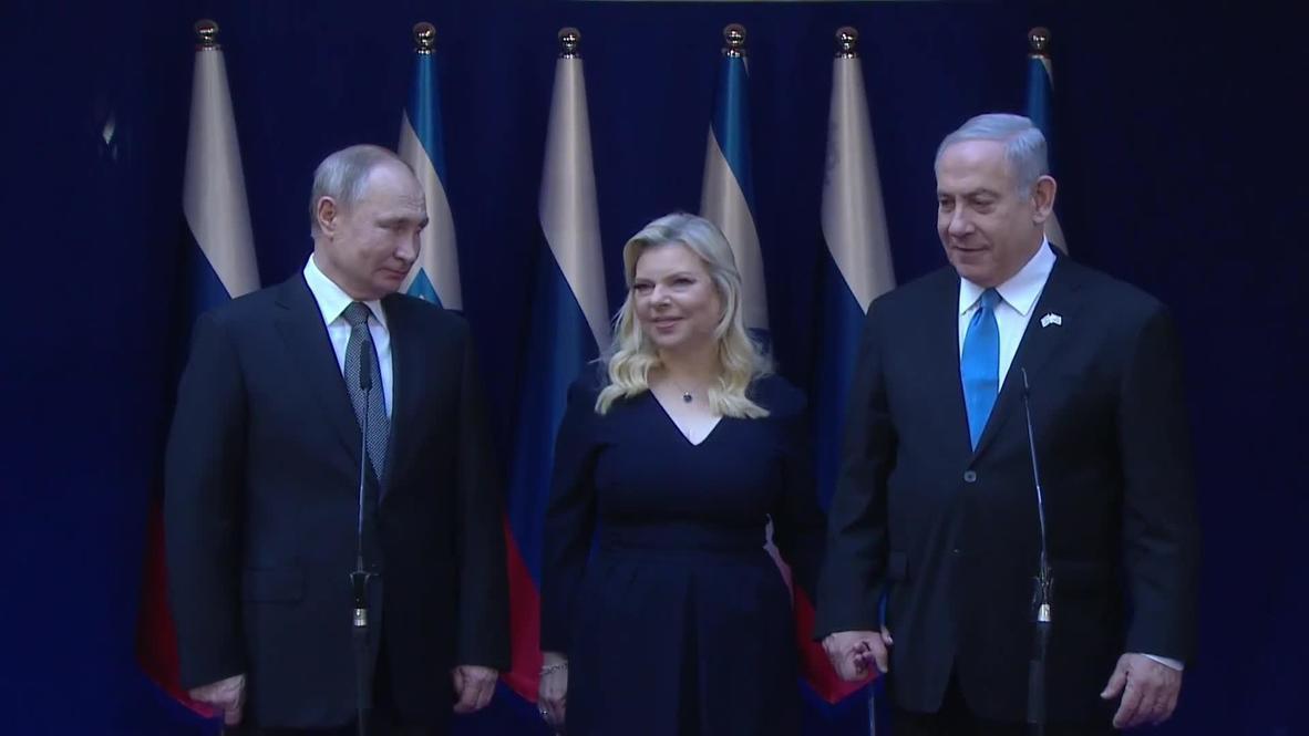 Israel: Putin holds talks with Netanyahu ahead of Auschwitz commemoration