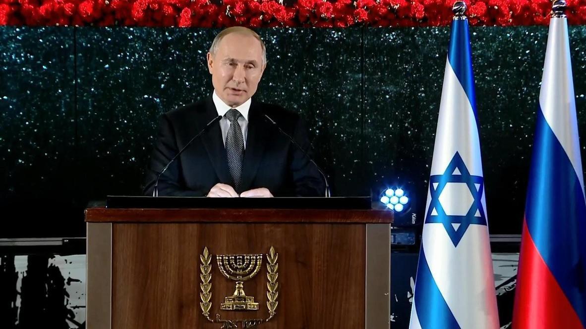 Израиль: Путин не сдержал эмоций на открытии памятника героям блокадного Ленинграда