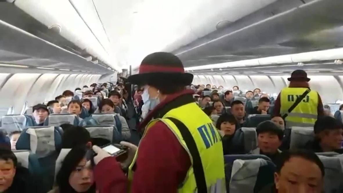 Россия: Роспотребнадзор проверил пассажиров рейса Нанкин-Москва на коронавирус