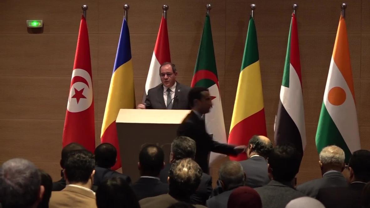 الجزائر: دول جوار ليبيا تجتمع لإيجاد حل لأزمتها