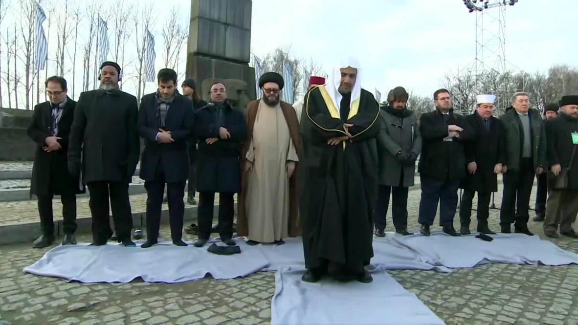 Poland: Senior Islamic delegation in Auschwitz in historic first visit