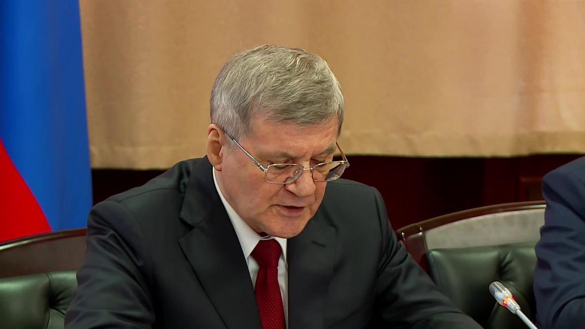 Россия: Чайка в должности полпреда в СКФО займется борьбой с коррупцией и обновлением экономической политики