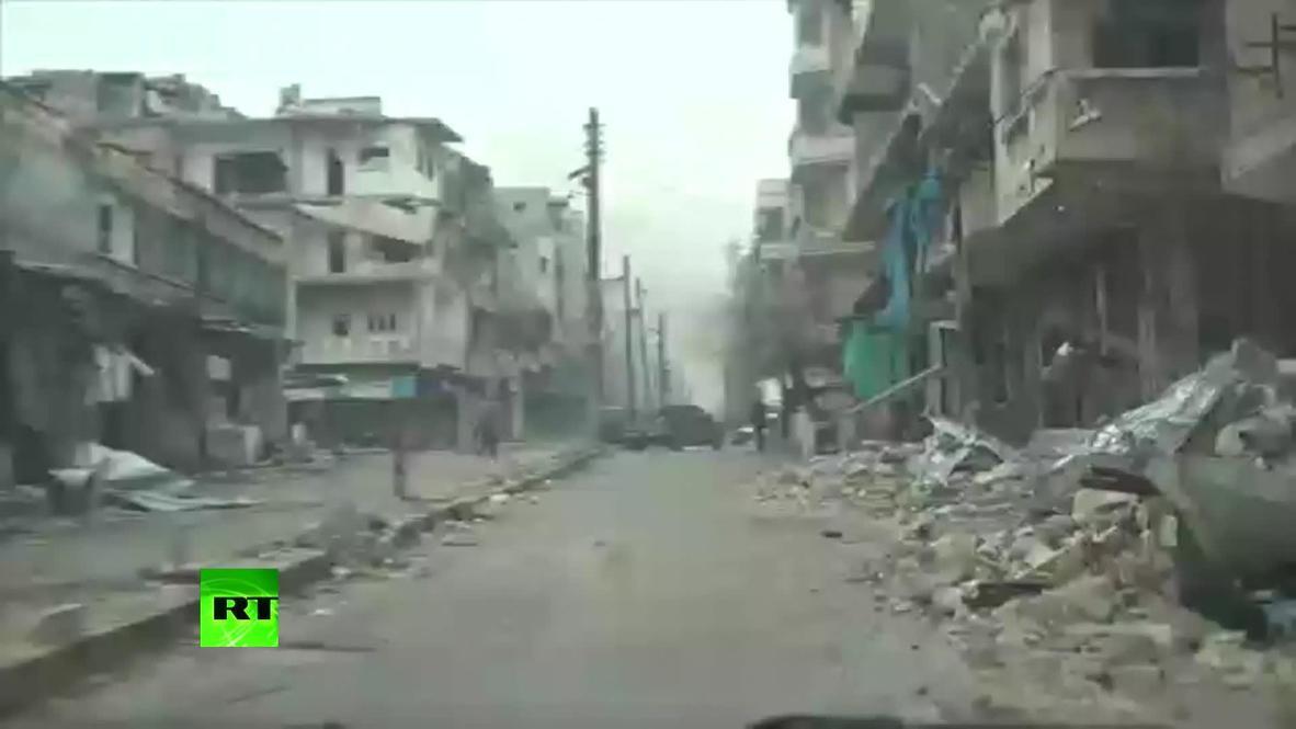 Syria: RT correspondent seriously injured in Maarat al-Numan *PARTNER CONTENT*