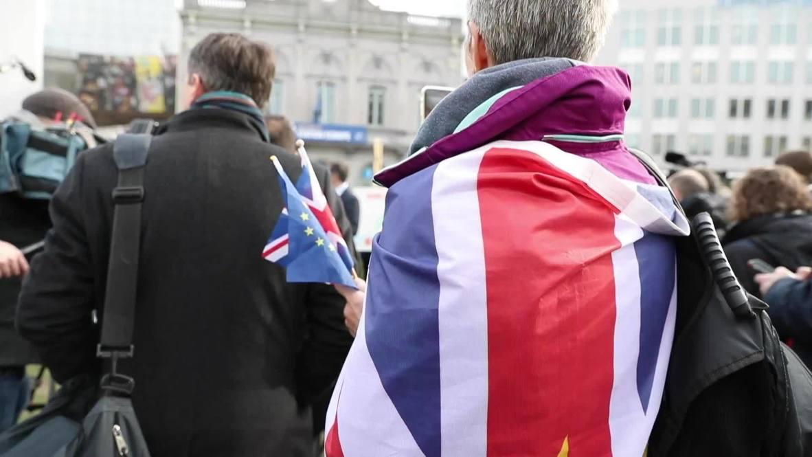 Belgium: Expats and locals mourn Brexit in EU capital