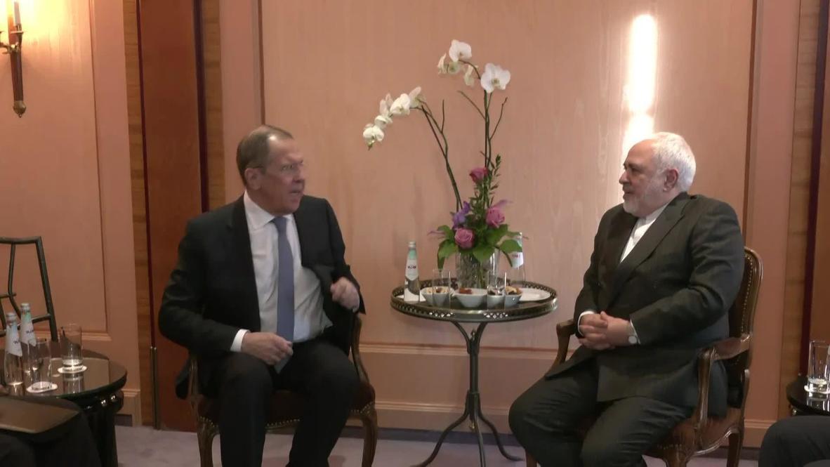 Германия: Встреча Лаврова и главы МИД Ирана Зарифа прошла на полях Мюнхенской конференции