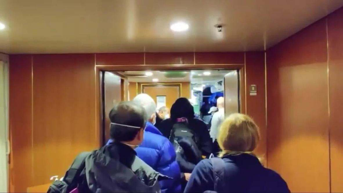Japan: Evacuation of US citizens on-board Diamond Princess starts *EXCLUSIVE*
