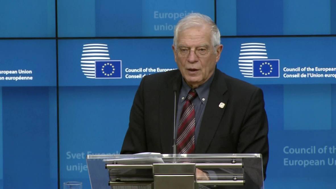 Bélgica: Ministros de Asuntos Exteriores de la UE acuerdan una nueva misión para el embargo de armas en Libia
