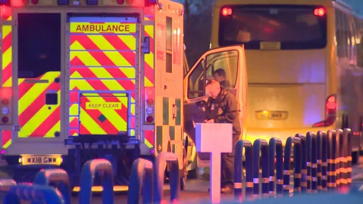 Великобритания: Эвакуированных с круизного лайнера Diamond Princess поместили на карантин по возвращении на родину