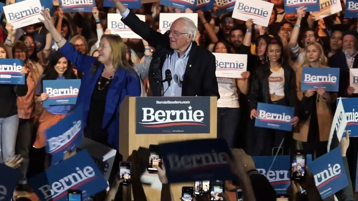 EE.UU.: Bernie Sanders se declara vencedor de las primarias demócratas de Nevada