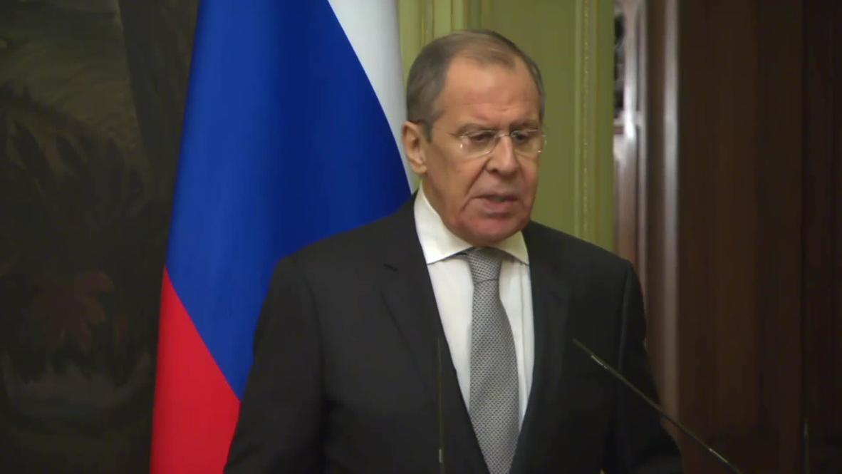 Россия: Лавров надеется, что после консультаций с Анкарой по Сирии террористы не будут хозяйничать в Идлибе