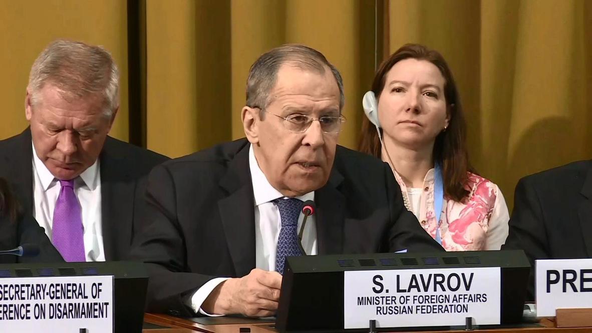 """Швейцария: """"Ждем ответа"""" – Лавров о предложении Путина Вашингтону продлить ДСНВ без предварительных условий"""