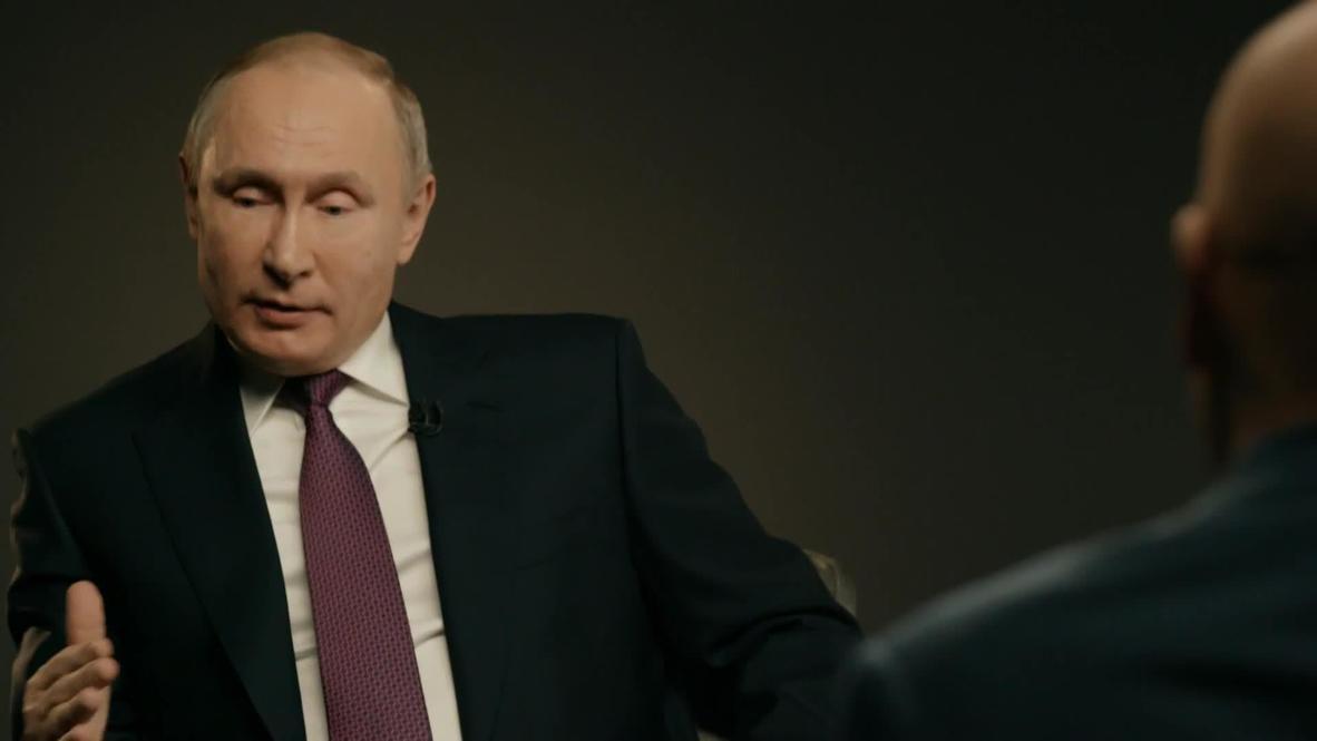 """Россия: """"Мне нужно, чтобы страна развивалась"""" – Путин о целях национальных проектов"""