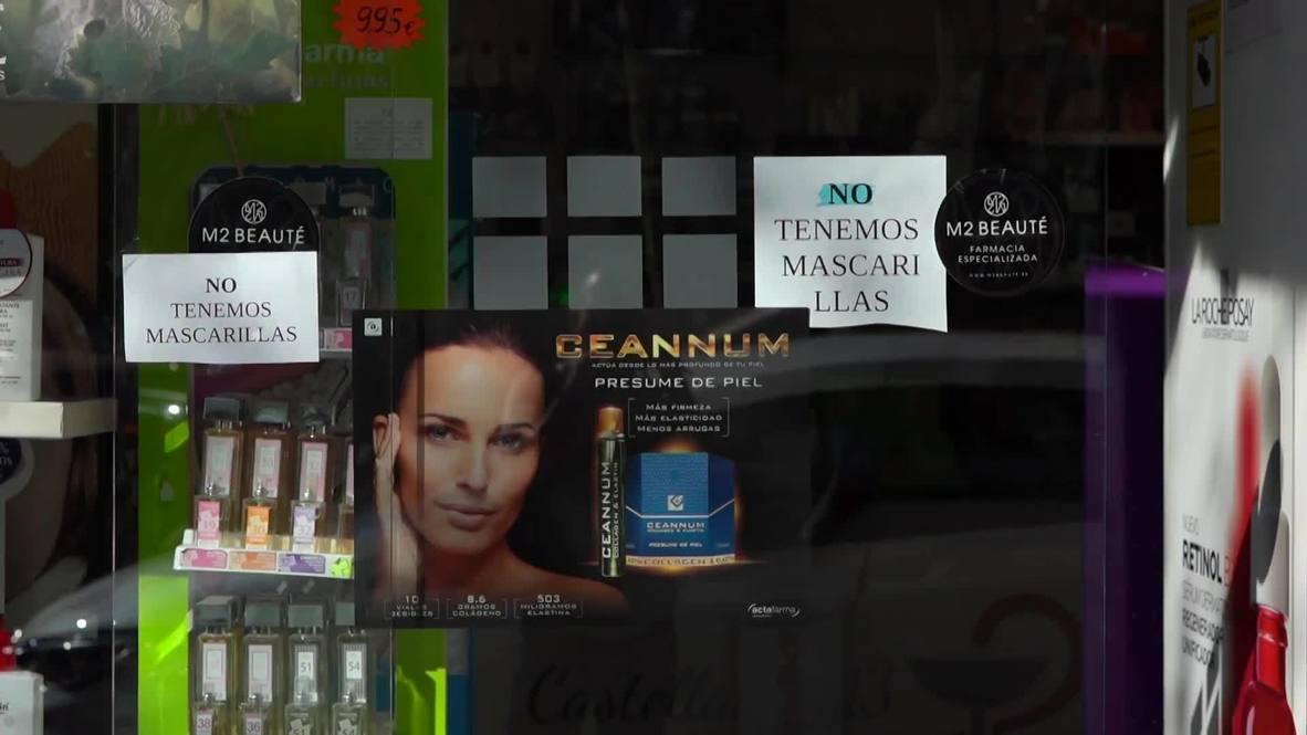 España: Confirman el segundo caso de coronavirus en Madrid