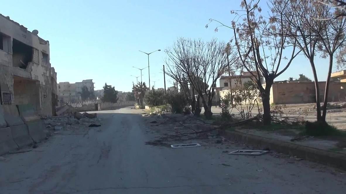 سوريا: المسلحون المدعومون من تركيا يزعمون سيطرتهم على بلدة سراقب