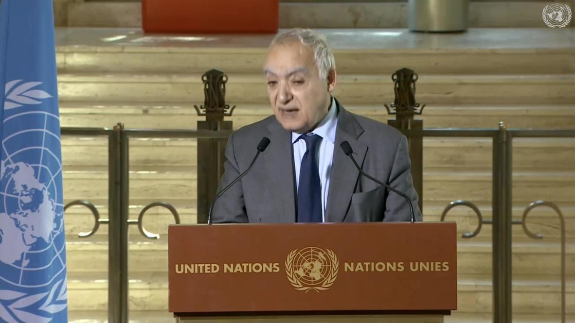 Switzerland: UN's Salame warns of possible regional war on Libyan territory