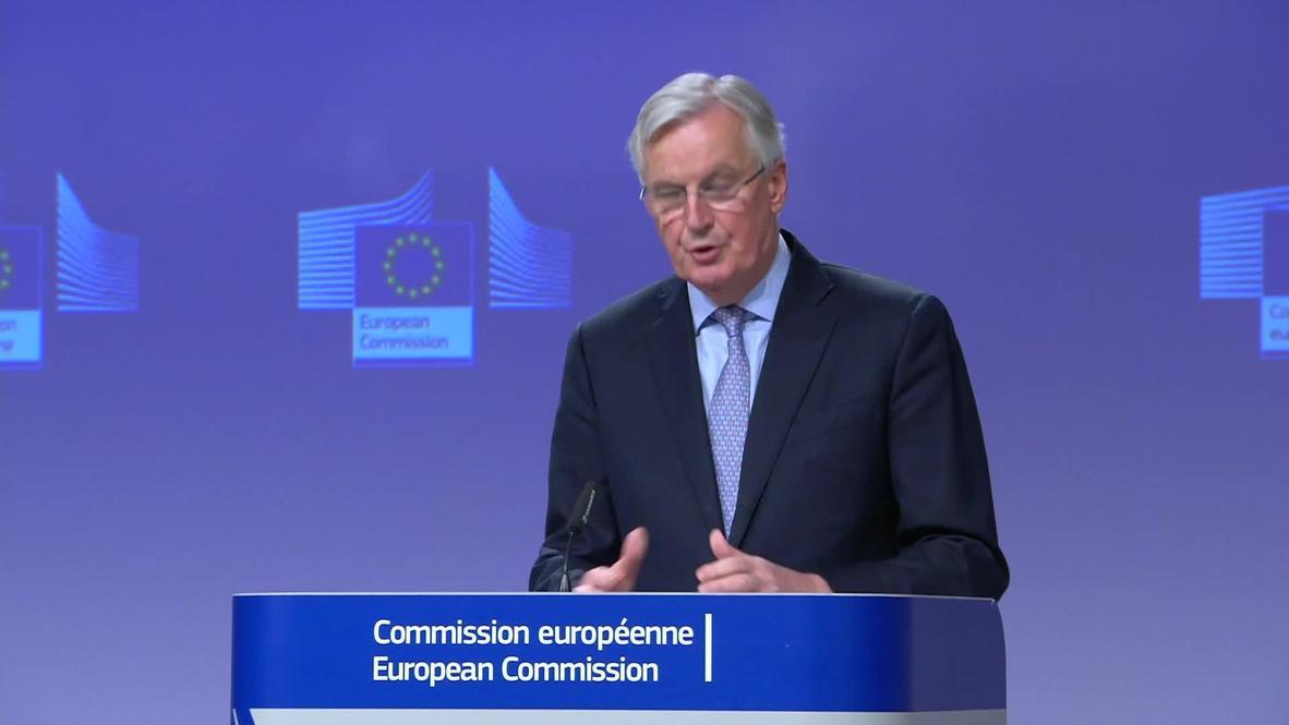 Belgium: 'Serious divergences' remain between the UK and EU - Barnier