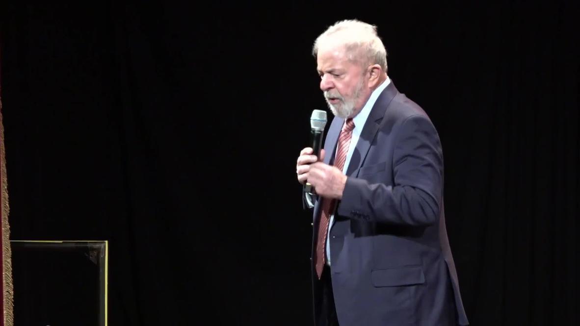 """Alemania: Lula dice estar """"seguro"""" de que el Gobierno de EE.UU. intervino en su proceso judicial"""