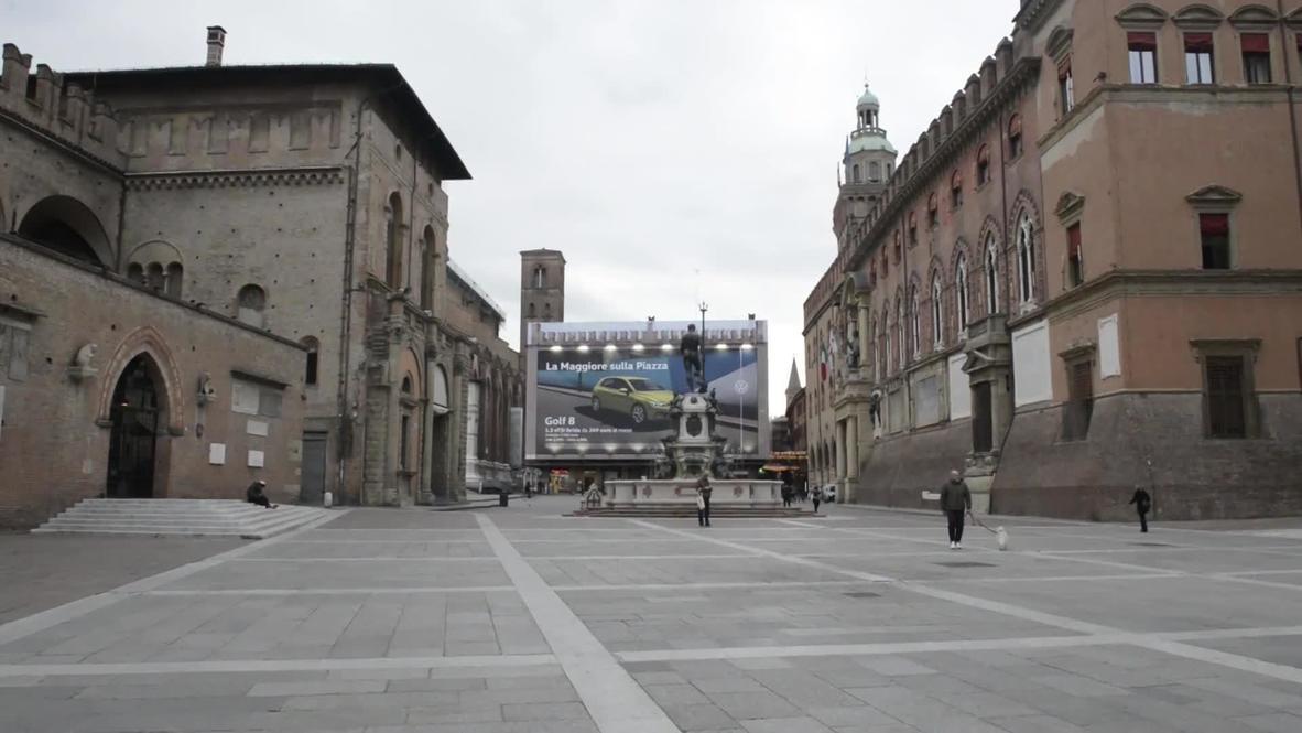 Italy: Bologna church bells ring in unison for nine days amid coronavirus outbreak