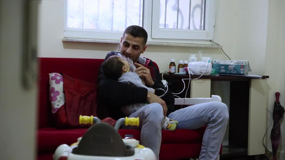 Turkey: Syrian family says Greek police forced them to swim back to Turkey *EXCLUSIVE*
