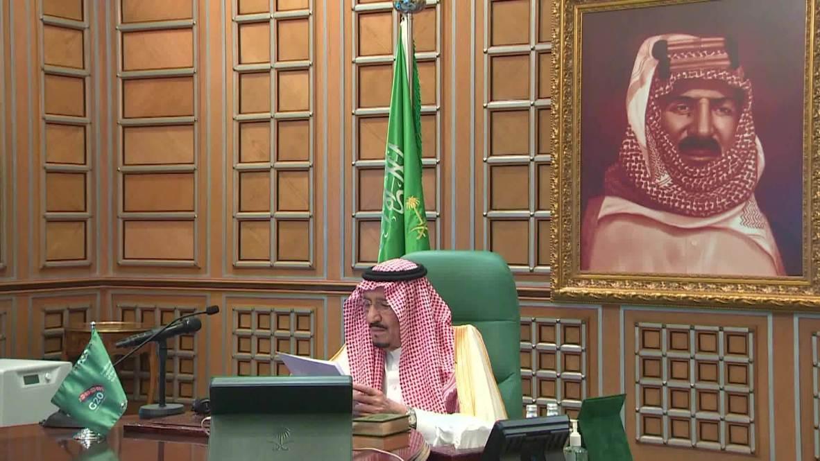 Saudi Arabia: King Salman chairs emergency virtual summit of G20 leaders amid coronavirus pandemic