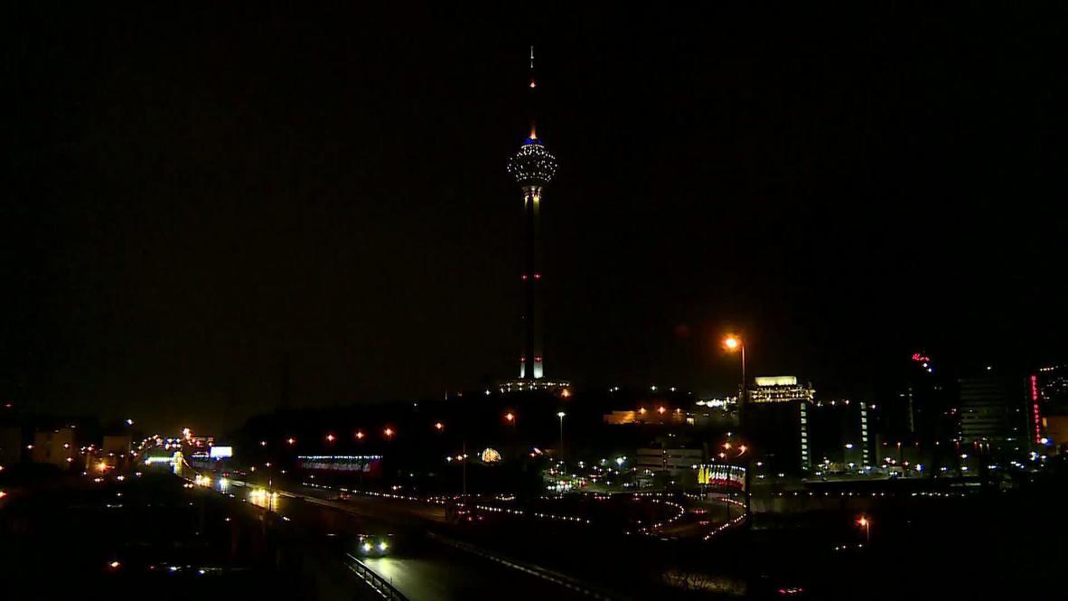 إيران: طهران تطفئ أنوار برج ميلاد إحتفالا بساعة الأرض