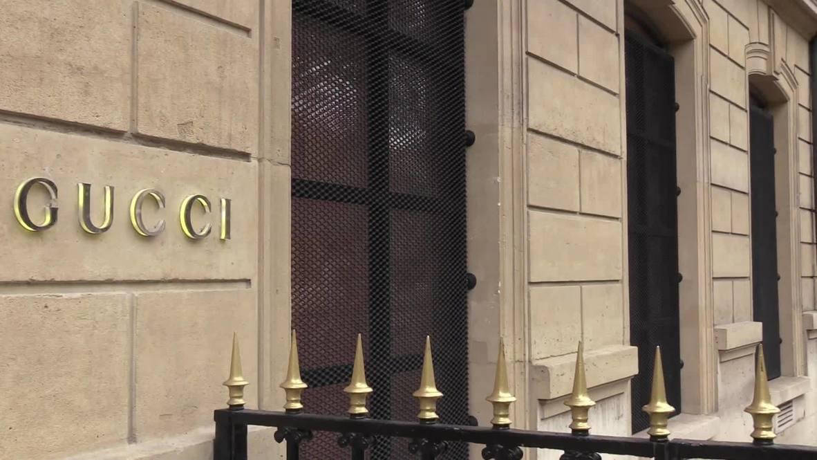 فرنسا: متاجر باريس الراقية تعزز إجراءات الحماية تحسباً لأعمال التخريب في ظل الإغلاق الشامل