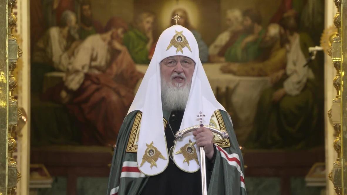 روسيا: البطريرك كيريل يدعو المصلّين إلى الامتناع عن زيارة الكنائس وسط تفشي فيروس كورونا