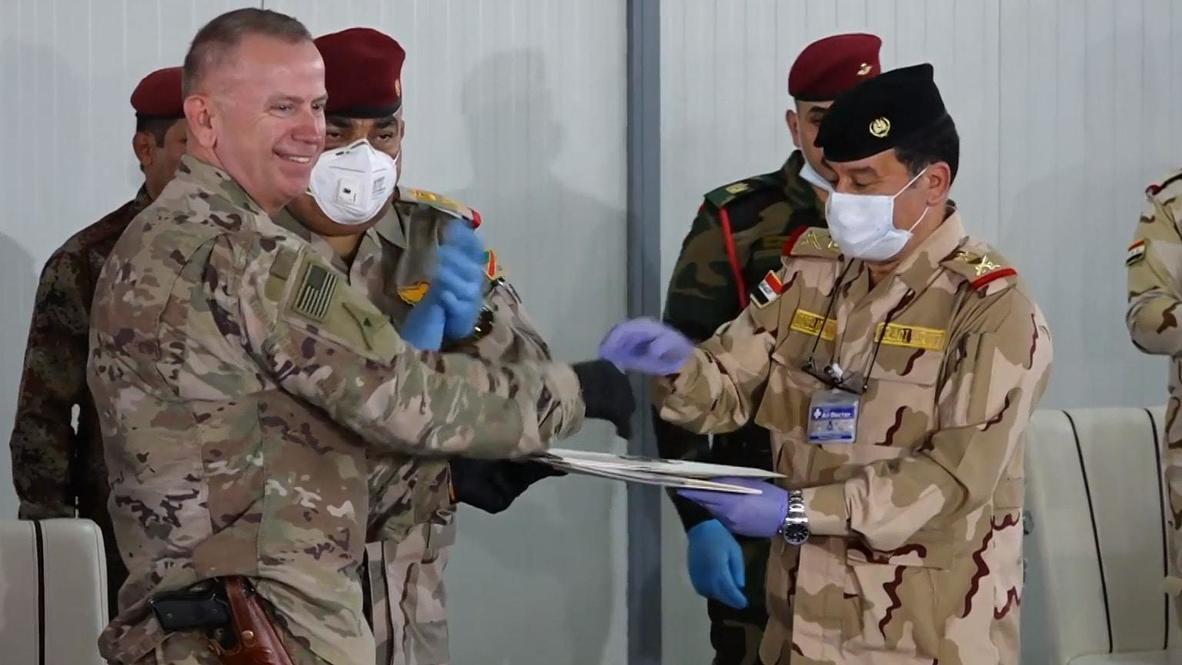 Iraq: US-led coalition hands over Kirkuk base to Iraqi forces