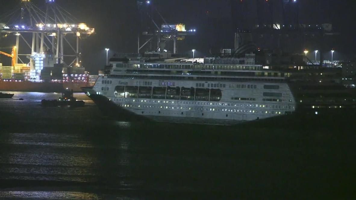 Panamá: Crucero afectado por el coronavirus con cuatro víctimas a bordo cruza el canal de Panamá