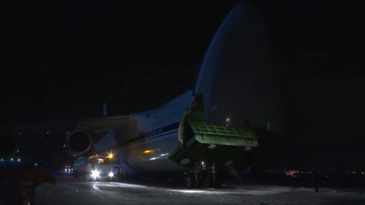 Россия: Самолет ВКС РФ с медпомощью для борьбы с коронавирусом вылетел в США