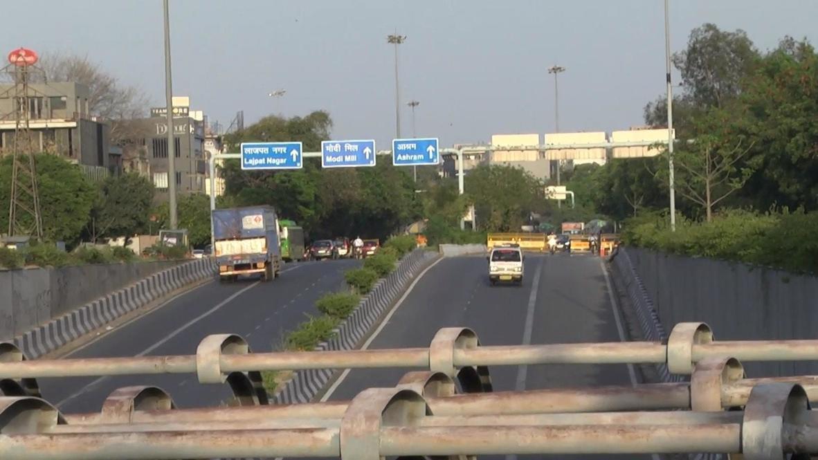 India: New Delhi lockdown boosts air quality levels