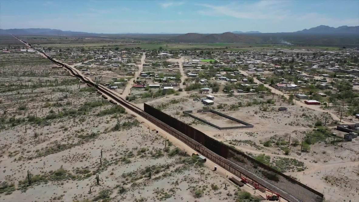 USA: Trump's US-Mexico border construction ongoing despite coronavirus emergency