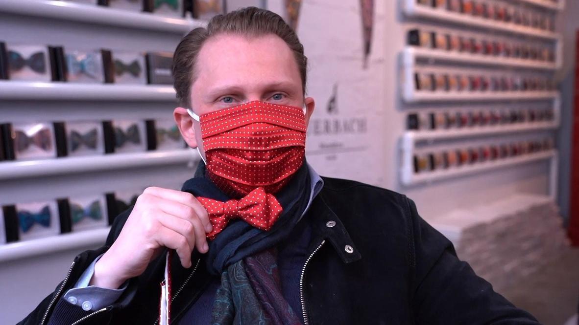 Alemania: Fabricante de accesorios de lujo se pasa a la producción de mascarillas llenas de estilo