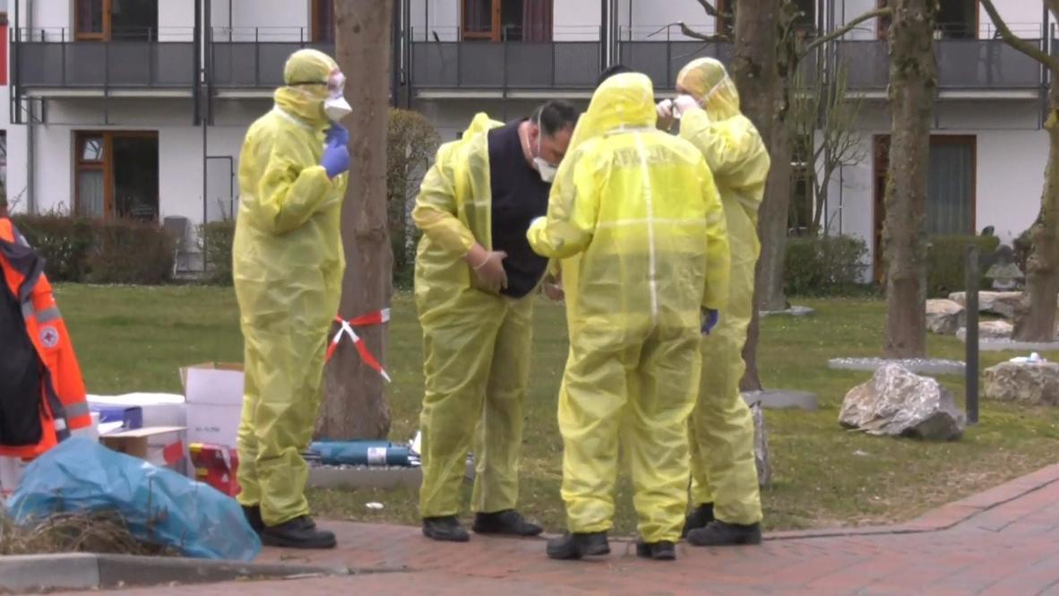 Germany: 78 patients test positive for coronavirus at rehabilitation clinic