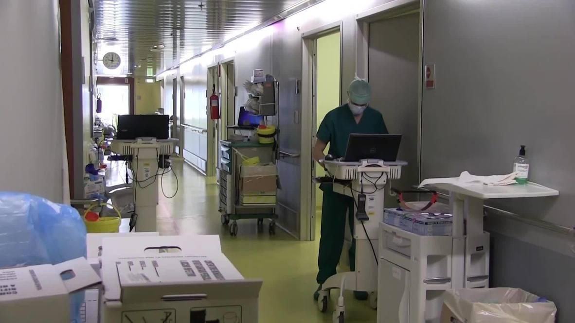 Италия: Российские военные специалисты прошли подготовку перед открытием полевого госпиталя в Бергамо