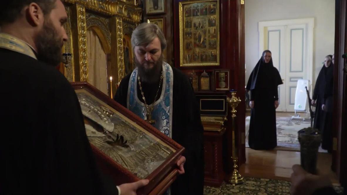 Россия: Патриарх Кирилл объехал Москву с молитвой от коронавируса