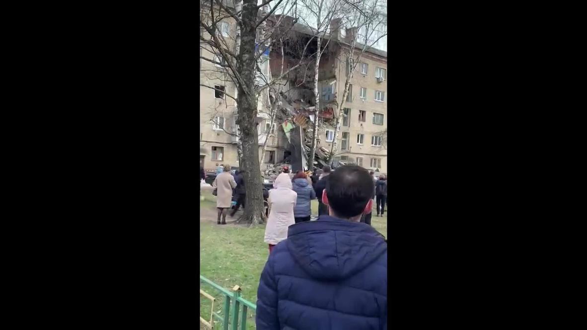 روسيا: مقتل شخص وإصابة 4 إثر انفجار أنبوب للغاز في مبنى سكني في ضواحي موسكو