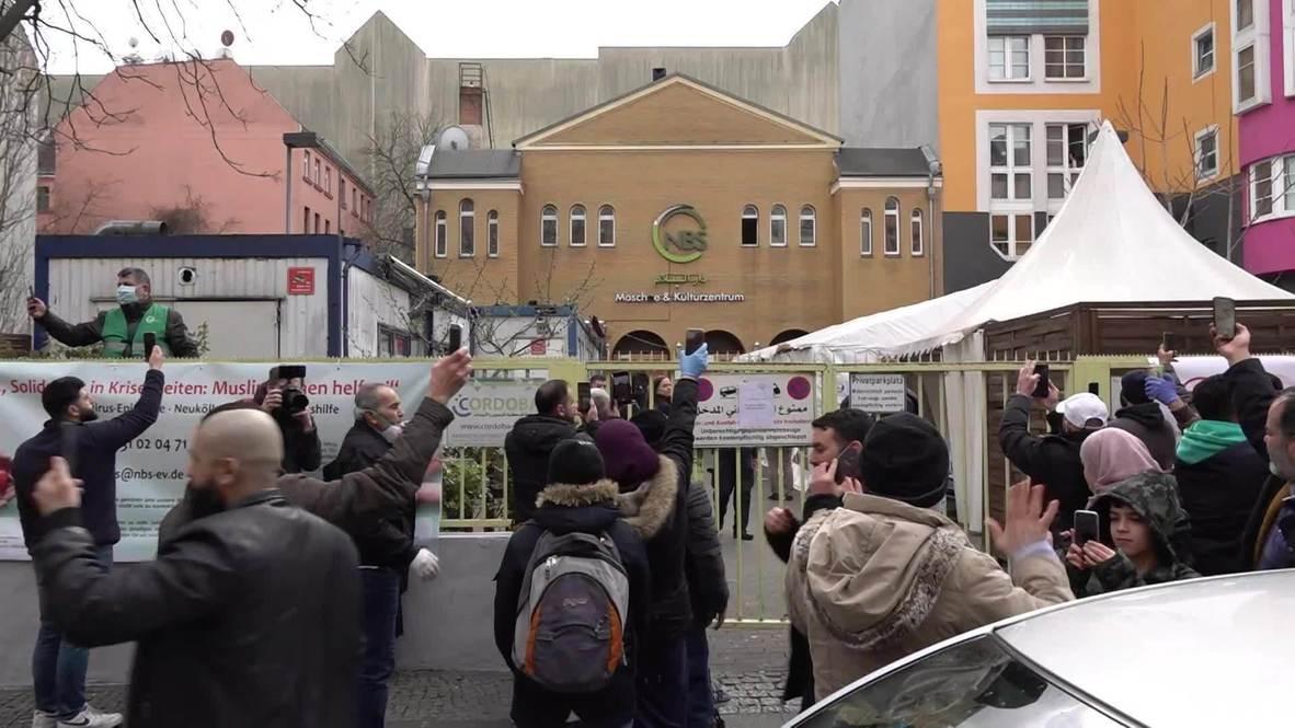 ألمانيا: انقطاع آذان مسجد في برلين قبل إتمامه بعد خرق المصلين لقواعد التباعد الاجتماعي