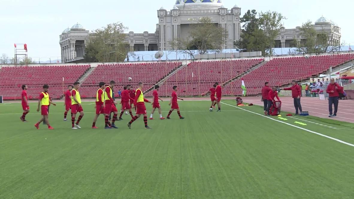 Tajikistan: Tajik Super Cup final held at empty stadium amid coronavirus pandemic