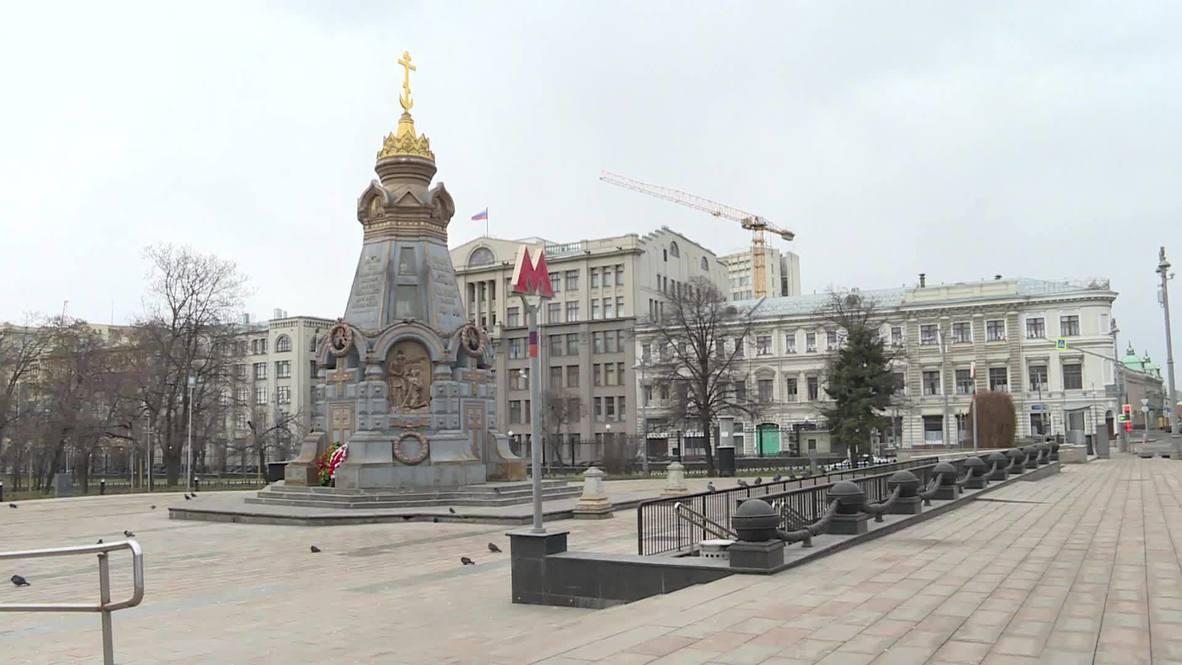 Не иду, не шагаю по Москве. В столице шел шестой день самоизоляции