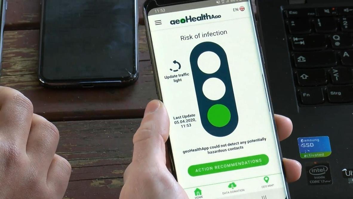 """""""Это абсолютно анонимно"""". В Германии создали приложение для выявления риска заражения коронавирусом"""