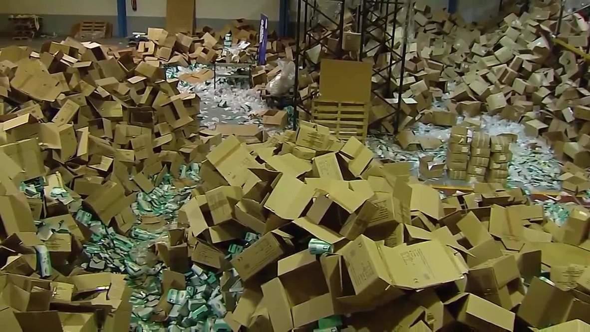 Spain: Two million masks and medical supplies stolen in Santiago de Compostela