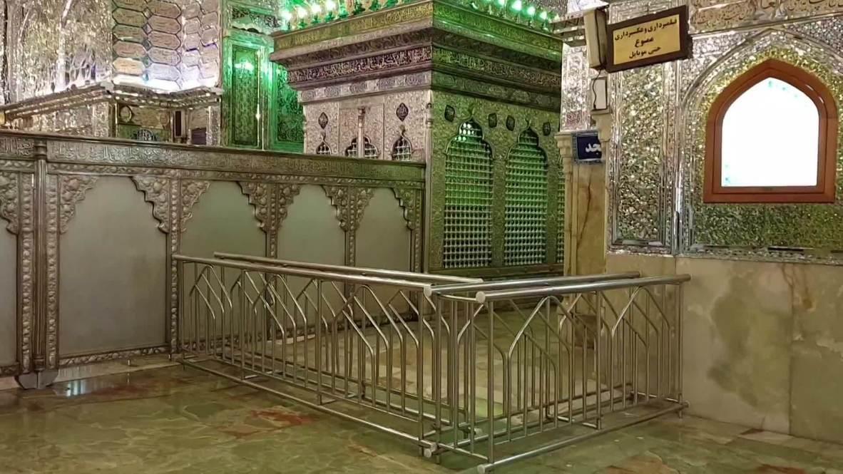 Iran: Historic Shah Cheragh shrine turned into workshop for coronavirus masks