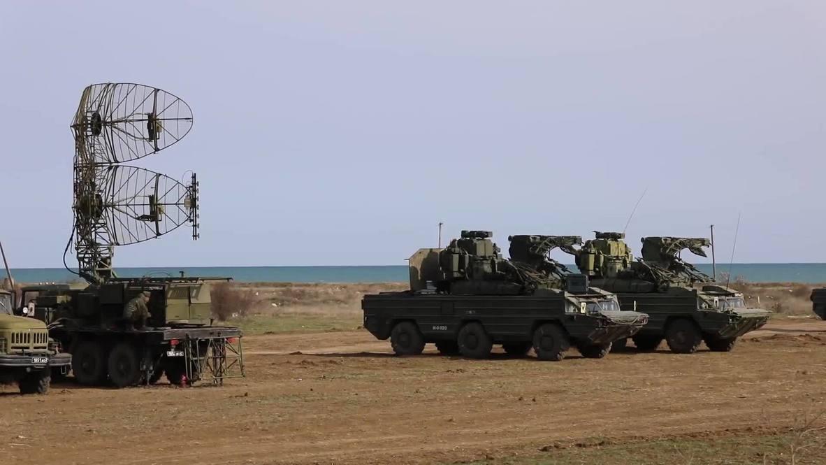 روسيا: أسطول البحر الأسود يتصدى لهجوم جوي مفترض خلال تدريبات في القرم